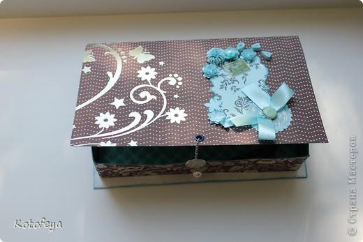 Коробочка для небольшой книги фото 2
