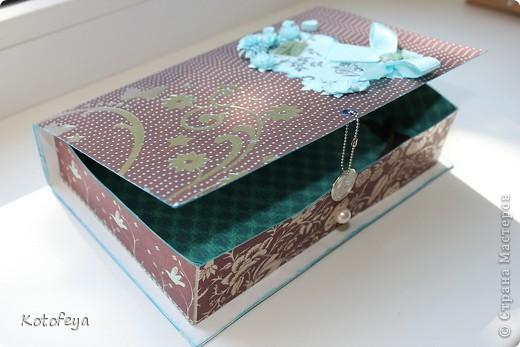 Коробочка для небольшой книги фото 3