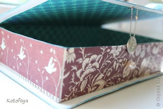 Коробочка для небольшой книги фото 4