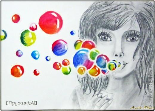Мыльные пузырьки))