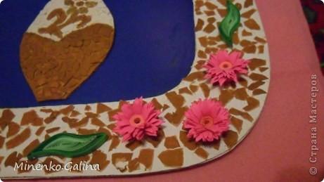 Однажды в СМ прочла о китайской технике изготовления цветов и листьев в технике квиллинг, когда уже готовый лепесток разрезается пополам полностью или частично. фото 13
