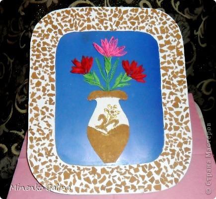 Однажды в СМ прочла о китайской технике изготовления цветов и листьев в технике квиллинг, когда уже готовый лепесток разрезается пополам полностью или частично. фото 11