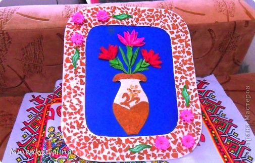 Однажды в СМ прочла о китайской технике изготовления цветов и листьев в технике квиллинг, когда уже готовый лепесток разрезается пополам полностью или частично. фото 14