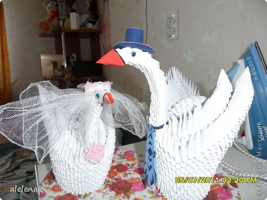 Пара лебедей - символ вечной любви!!! фото 1