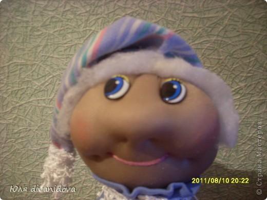 Моя первая куколка в текстильной технике.Получилась бабулечка ))) фото 4