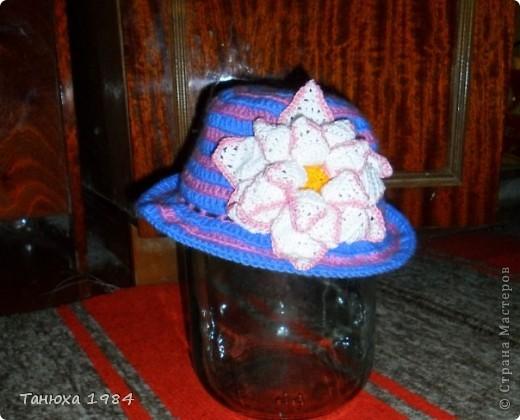 Несколько вариантов шляпок фото 7