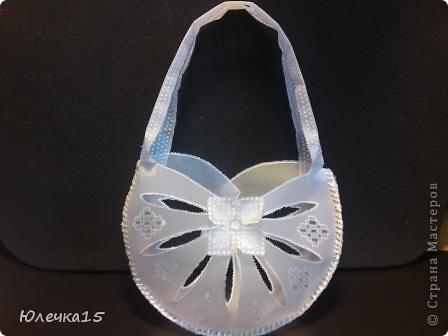 Доброе время суток! Решила подготовиться к предстоящим свадьбам друзей- соорудила сумочки для денежного подарка.   фото 1