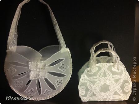 Доброе время суток! Решила подготовиться к предстоящим свадьбам друзей- соорудила сумочки для денежного подарка.   фото 4