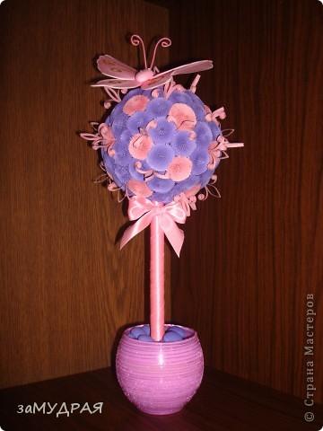 Моя первая работа Цветочное дерево фото 1