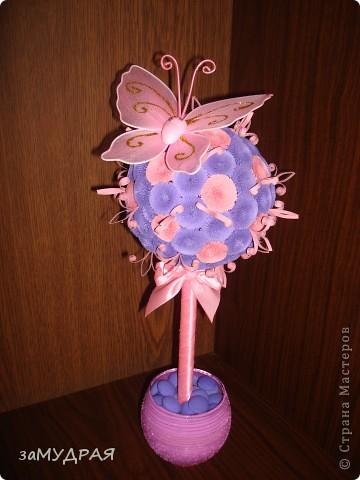 Моя первая работа Цветочное дерево фото 2