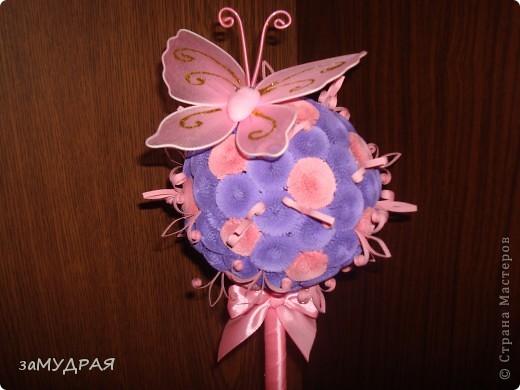 Моя первая работа Цветочное дерево фото 3