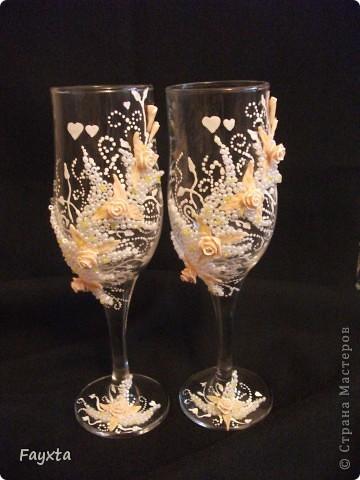 Эти бокалы будут украшать мою свадьбу, спс за идею dvn фото 1