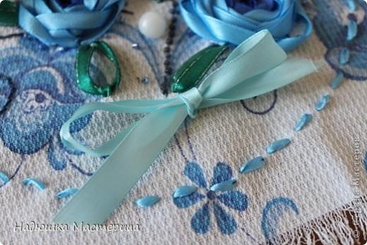Представляю вам свою первую вышивку лентами! фото 5