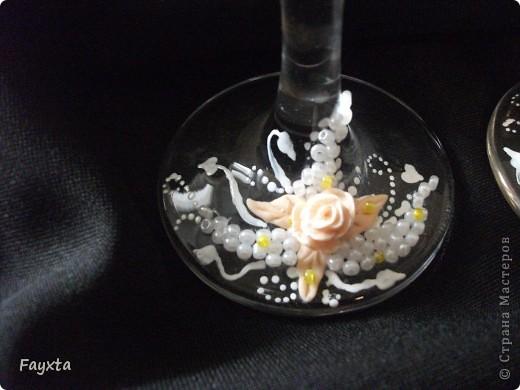 Эти бокалы будут украшать мою свадьбу, спс за идею dvn фото 3