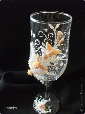 Эти бокалы будут украшать мою свадьбу, спс за идею dvn фото 2