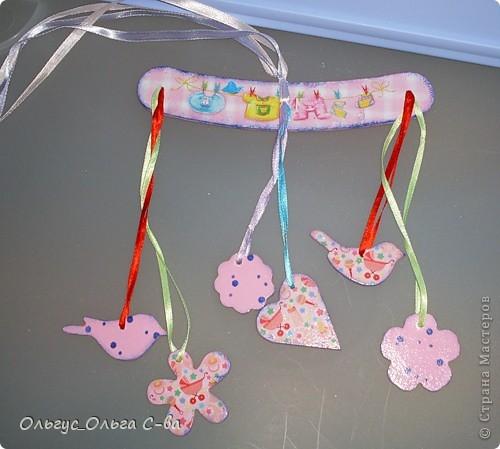 Для дочки своей подруги сделала вот такую карусельку.  фото 1