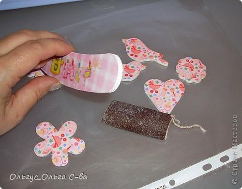 Для дочки своей подруги сделала вот такую карусельку.  фото 11