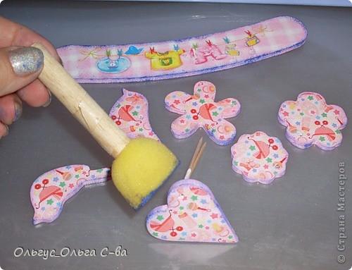 Для дочки своей подруги сделала вот такую карусельку.  фото 14