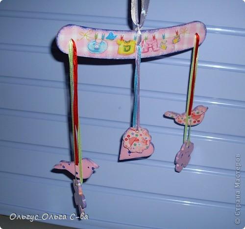 Для дочки своей подруги сделала вот такую карусельку.  фото 17