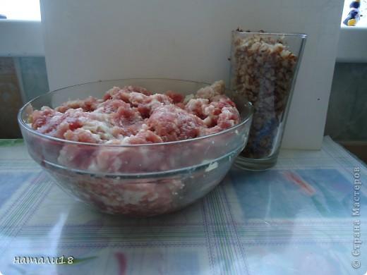 Решила сделать тефтельки,но только вот не с рисом,как мы обычно привыкли,а с ГРЕЧКОЙ. фото 2