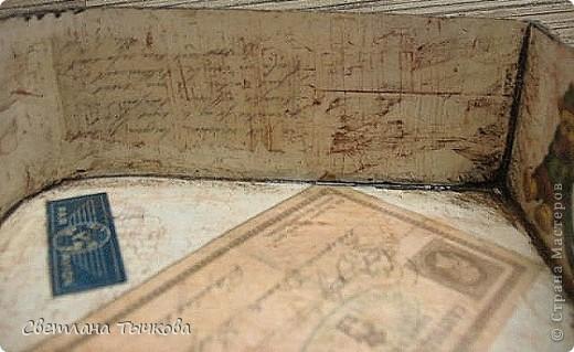 Изначально был в этом чемоданчике подарок сына-кофейный набор на две персоны.Чашки давно выставлены на полку,а в самом чемоданчике хранились разные нужные мне вещицы. фото 14
