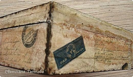 Изначально был в этом чемоданчике подарок сына-кофейный набор на две персоны.Чашки давно выставлены на полку,а в самом чемоданчике хранились разные нужные мне вещицы. фото 6
