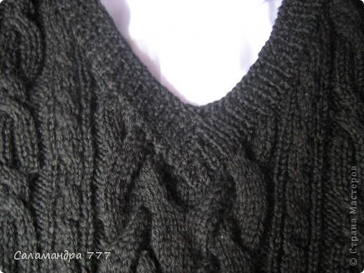 Скоро в школу! Чтобы не замерзнуть до начала отопительного сезона в школе оденем такую жилетку! фото 2