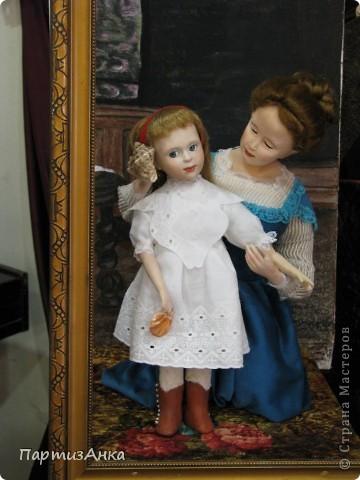 """Привет, Страна! Сегодня в Хайфе открылась всеизраильская выставка кукол под девизом """"Выходя за рамки"""".Были и наши, израильские мастера и мастерицы, и гости из России. Выставка продлится всего 4 дня, поэтому я, подхватив одной рукой ребёнка, а второй - фотоаппарат, помчалась на выставку. Представляю Вам маленький отчёт нашего с Данькой похода. фото 9"""