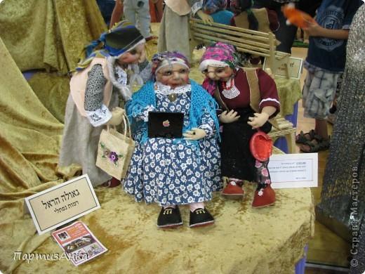 """Привет, Страна! Сегодня в Хайфе открылась всеизраильская выставка кукол под девизом """"Выходя за рамки"""".Были и наши, израильские мастера и мастерицы, и гости из России. Выставка продлится всего 4 дня, поэтому я, подхватив одной рукой ребёнка, а второй - фотоаппарат, помчалась на выставку. Представляю Вам маленький отчёт нашего с Данькой похода. фото 16"""