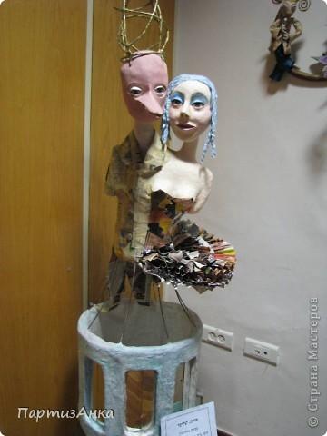 """Привет, Страна! Сегодня в Хайфе открылась всеизраильская выставка кукол под девизом """"Выходя за рамки"""".Были и наши, израильские мастера и мастерицы, и гости из России. Выставка продлится всего 4 дня, поэтому я, подхватив одной рукой ребёнка, а второй - фотоаппарат, помчалась на выставку. Представляю Вам маленький отчёт нашего с Данькой похода. фото 19"""