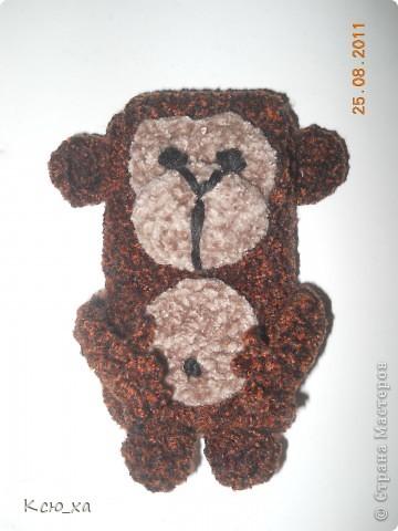 Чехол для телефона обезьянка