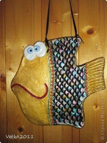 Моя первая рыбешка!