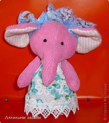 Слоняша Розочка фото 1