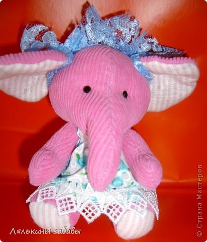 Слоняша Розочка фото 2
