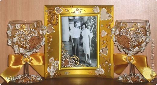 Это подарок на золотую свадьбу моим очень близким друзьям, можно сказать вторым родителям. фото 1