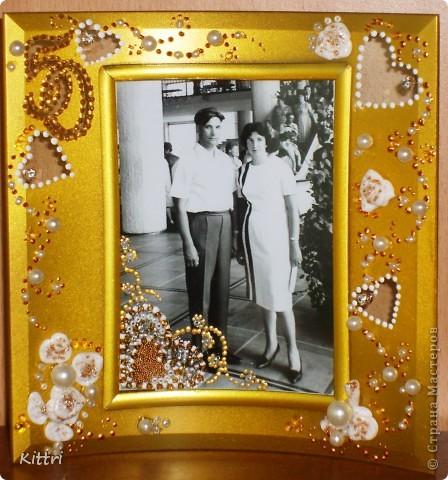 Это подарок на золотую свадьбу моим очень близким друзьям, можно сказать вторым родителям. фото 3