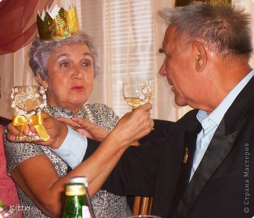 Это подарок на золотую свадьбу моим очень близким друзьям, можно сказать вторым родителям. фото 5