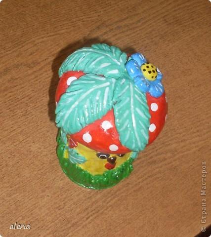 Мне нравится создавать что-то свое. Но когда я увидела Гриб-грибыча то не осталась равнодушной.Вот такой он получился у меня. фото 2