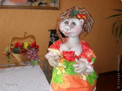 кукла на чайник фото 1