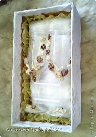 Набор свадебных бокалов (дебют) фото 3