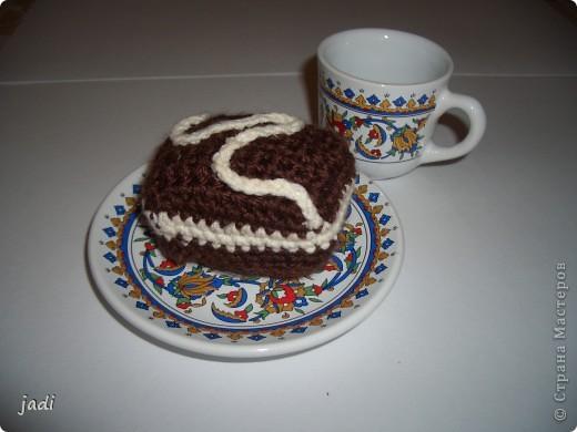 """Вот такие пирожные """"испекли"""" для кукол и мишек. фото 1"""