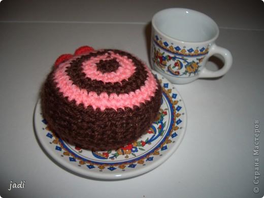 """Вот такие пирожные """"испекли"""" для кукол и мишек. фото 2"""