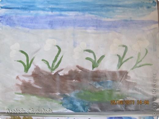 пасхальная открытка(салфетки,ткань,бусинки фото 6