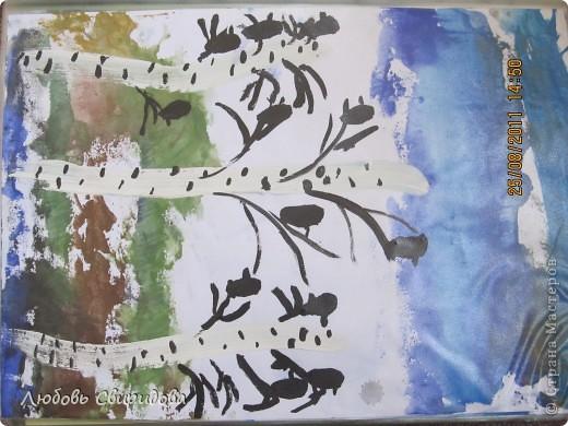 пасхальная открытка(салфетки,ткань,бусинки фото 7