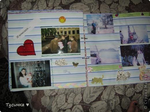 Наконец-то дошли руки до выставления работ))) Подарила я альбомчик, спасибо большое всем за советы)) фото 7