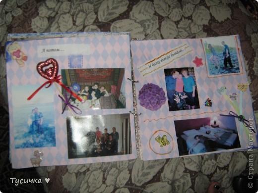 Наконец-то дошли руки до выставления работ))) Подарила я альбомчик, спасибо большое всем за советы)) фото 9