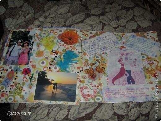 Наконец-то дошли руки до выставления работ))) Подарила я альбомчик, спасибо большое всем за советы)) фото 12