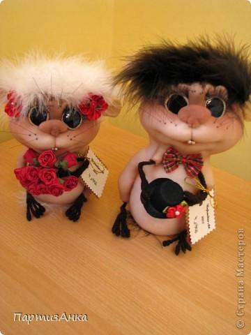 """Привет, Страна! Опять я устроила себе """"белую""""  ночь - чтобы на свет появилась эта сладкая парочка - жених и невеста. фото 1"""