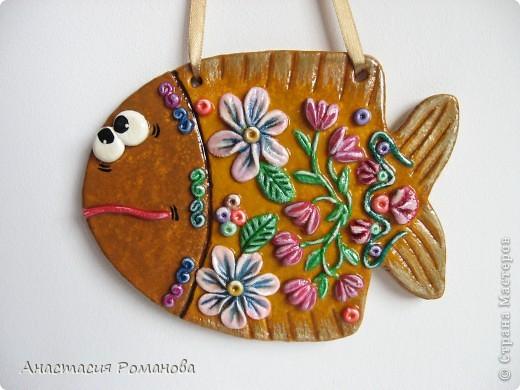 Еще одна моя рыбка - родная сестричка Цветочной рыбки, которую можно посмотреть тут: http://stranamasterov.ru/node/125597