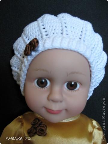 Иногда в детском садике просят обновить гардероб куклам и пупсам. Я не отказываю, так как хочу набраться опыта в вязании и шитье. фото 2